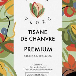 étiquette tisane 10g
